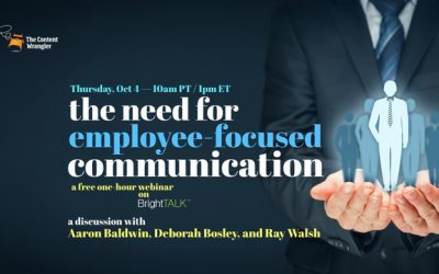 Webinar: The Need for Employee-Focused Communication